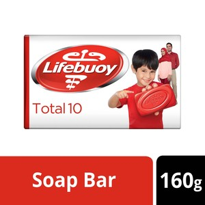 Lifebuoy Bar Soap Total 10 160g