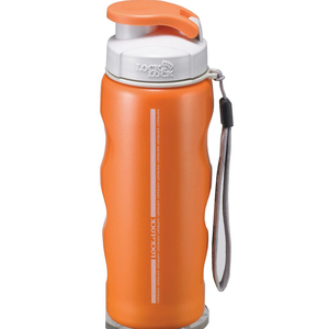 Lock&Lock Stainless Steel Bottle LHC213 550ml Orange