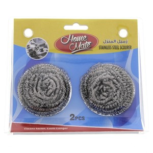 Home Mate Stainless Steel Scourer 2pcs