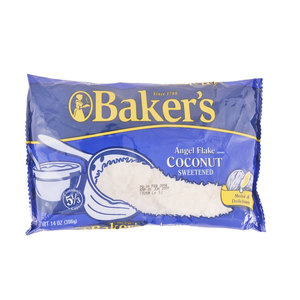 Bakers Sweetened Coconut Flakes 396g