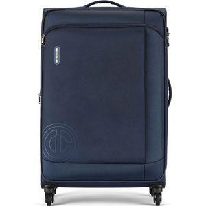Carlton Kent  4 Wheel Soft Trolley 83cm Blue