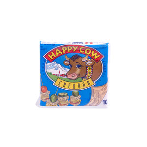 Happy Cow Cheddar Sliced Cheese 200g