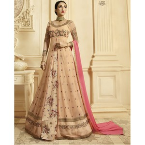 Semi Stitched Women's Anarkali Suit Zubeda Seher 14907