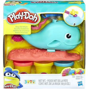 Playdoh Wavy the Whale E0100