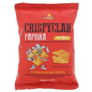 Lamole Crispy Clan Paprika Flavoured Chips 90g