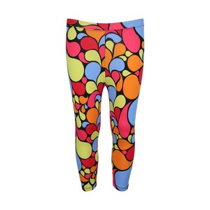 Twin Birds Girls Legging 3/4 26-32 2001 Multi-Color 8-14Y
