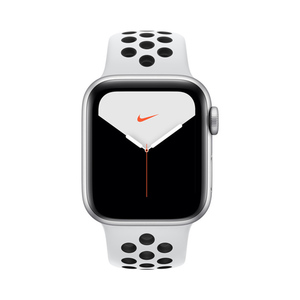 Apple Watch Nike Series 5 GPS MX3R2AE 40mm Silver Aluminium Case with Pure Platinum/Black Nike Sport Band