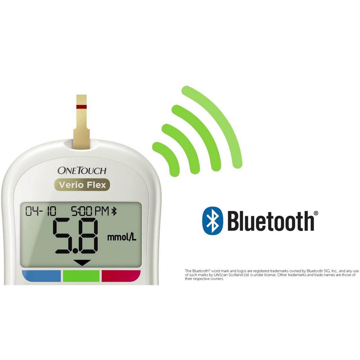 Buy One Touch Verio Flex Glucose Monitor - Glucose Monitor