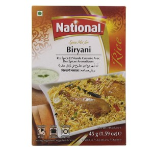 National Biryani Spice Mix 45g
