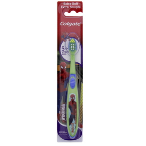 Colgate Kids Toothbrush 5+ Extra Soft 1pc Assorted Colours