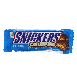 Snicker Crisper Chocolate Bar 40g