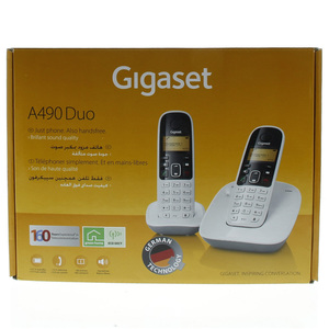 Siemens Gigaset Cordless Phone A490DUO