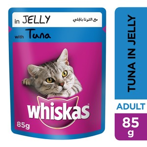 Whiskas® Tuna in Jelly Pouch 85g