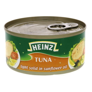 Heinz Light Solid Tuna In Sunflower Oil 160g
