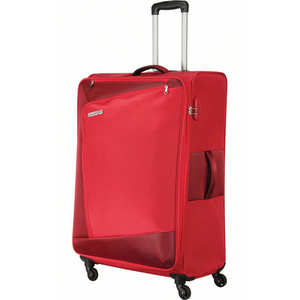 American Tourister Vienna 4 Wheel Soft Trolley 82cm Red