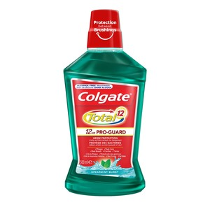 Colgate Total Spearmint Mint Burst Mouthwash 500ml