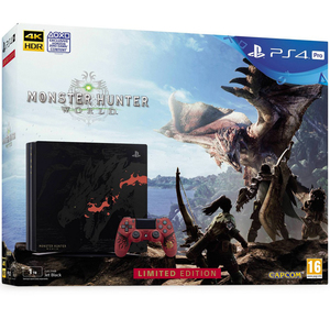 Sony PlayStation 4 Pro 1TB + Monster Hunter World