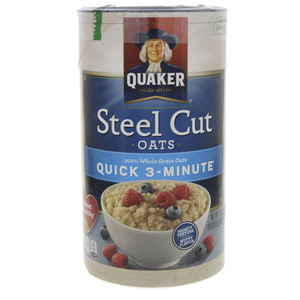 Quicker Steel Cut Oats Quick 3 Minute 709g