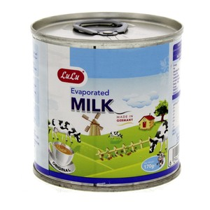 Lulu Evaporated Milk Original 170g