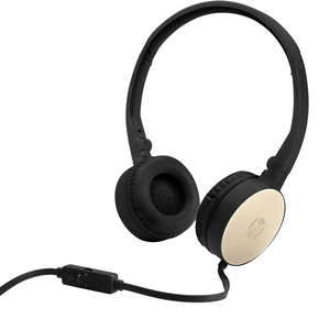 HP Stereo Headset H2800-2AP94AA Black with Silk Gold
