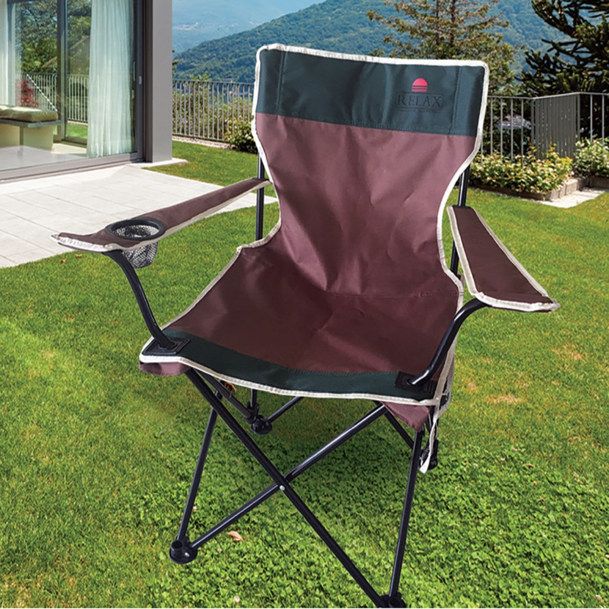 Buy Royal Relax Camping Chair Assorted Nhc1305 Online Lulu