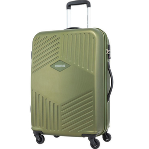 American Tourister Trillion 4 Wheel Hard Trolley 55cm Olive