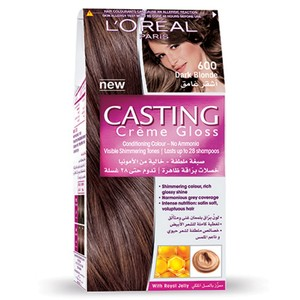 L'Oreal Casting Creme Gloss Dark Blonde 600 1 Kit