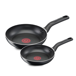 Tefal Non Stick Fry Pan Set Super Cook B1430784 28 + 30cm