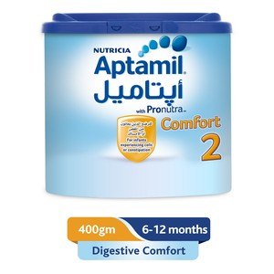 Aptamil Comfort 2 Follow On Formula Milk 400g