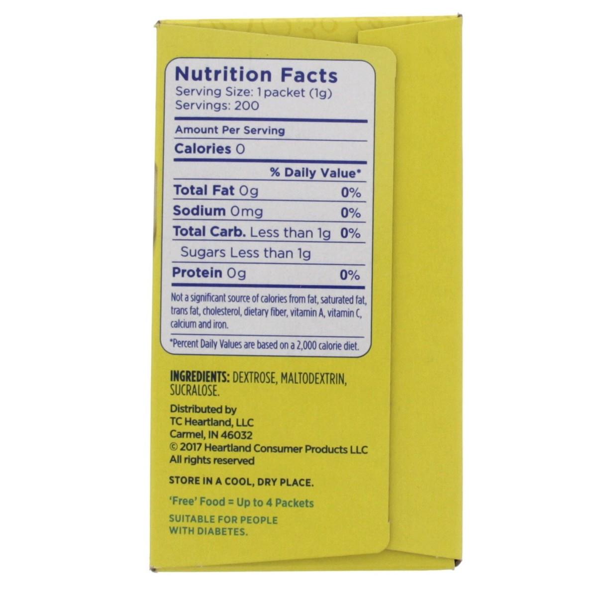 Buy Splenda No Calorie Sweetener 200