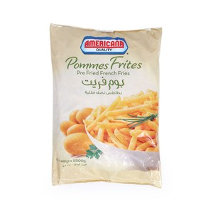 Americana Pommes Frites Pre Fried French Fries 2.5kg