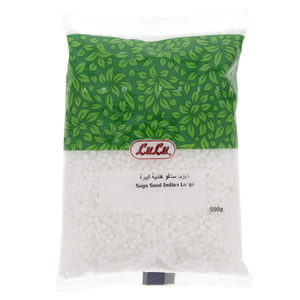 Lulu Sago Seed Indian Large 500g
