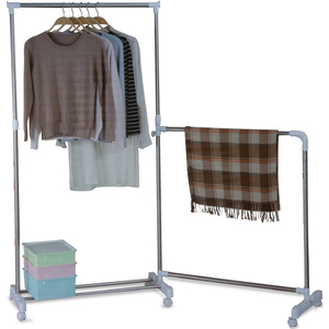 Stright Line Stainless Steel Garment Rack