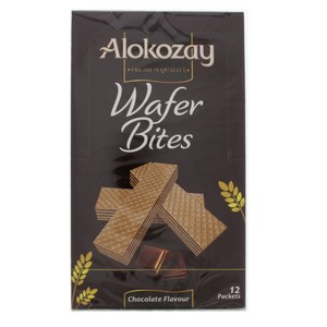 Alokozay Wafer Bites Chocolate Flavour 12 x 45g