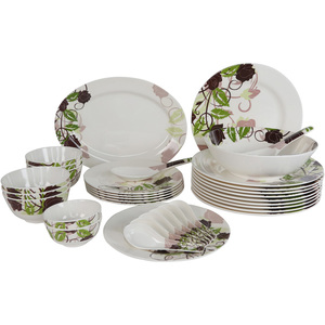 Melamine Dinner Set Garden Valley 34pcs