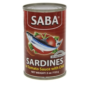 Saba Sardines In Tomato Sauce With Chilli 155g