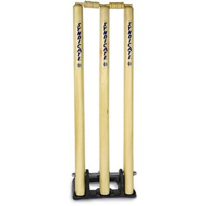 Cricket Stumps With Spring Stand