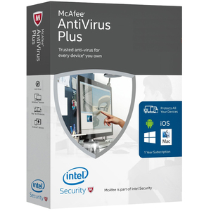 McAfee Anti-Virus Plus 2016 Unlimited Device