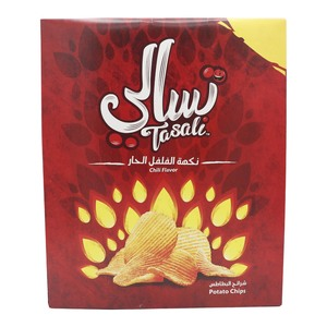 Tasali Chilli Flavor Potato Chips 12 x 23g