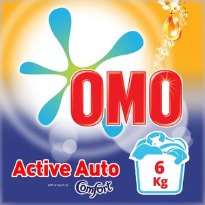 OMO Active Auto Fabric Cleaning Powder with Comfort 6kg