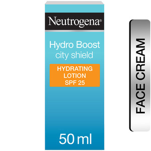 Neutrogena Moisturiser Hydro Boost City Shield SPF 25 50ml