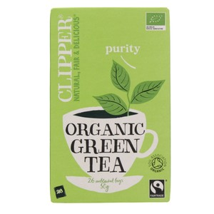 Clipper Purity Organic Green Tea 26 Bags