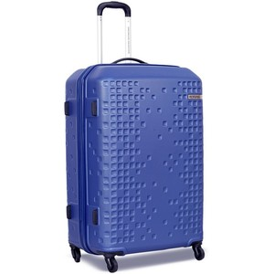 American Tourister Cruze 4 Wheel Hard Trolley 80cm Blue