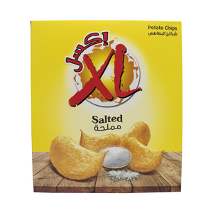 XL Salted Potato Chips 14 x 25g