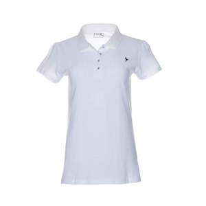 Eten Ladies Basic Polo T-Shirt White