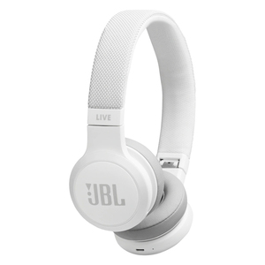 JBL Wireless Headphone LIVE 400BT White