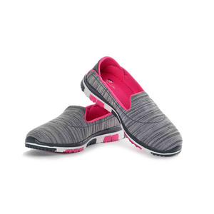 Tom Smith Women's Casual Shoes 3168 Grey Fuchsia