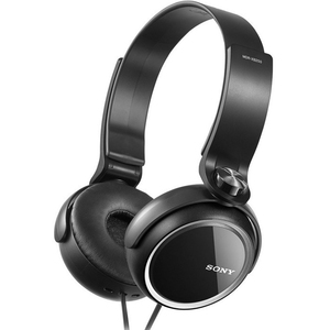 Sony Extra Bass Stereo Headphones MDR-XB250BK