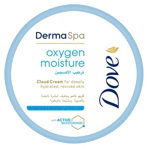 Dove DermaSpa Body Cream Oxygen Moisture 300ml