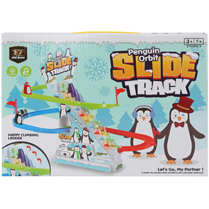 Skid Fusion Light & Music Penguin Orbit Slide Track 1002